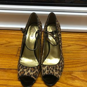 Animal Print Guess Shoes
